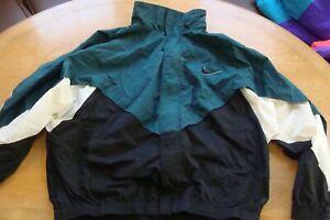 🏀NIKE Sweatsuit Top Jacket 1990s Windbreaker 2XL VINTAGE Retro classic 90s rare