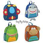 Stephen Joseph Mini Sidekick Toddler Backpacks for Boys - Cute Kids School Bags