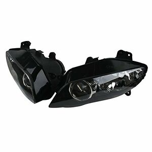Front Head Lights Lamps Assembly Headlights Headlamp For Yamaha YZF R1 2004-2006