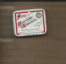 AJ-030 - Anusol Hemorrhoidal Suppositories Physicians Sample Tin Vintage