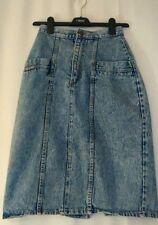 Unbranded Calf Length Denim Skirts for Women