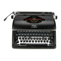 Royal Classic Manual Typewriter Black
