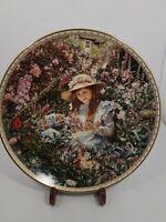 Sandra Kuck VTG '94 Collector Plate Garden of Sunshine 6th In Sugar Spice Series