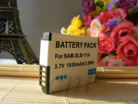 Replacement  Samsung SLB-11A Battery for WB2000 ST1000 TL500 TL350 HZ50 HZ30