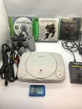 Play Station One Slim Console 3 Games Final Fantasy Sealed PS1 PS One