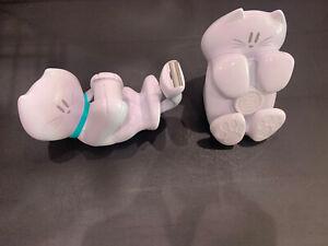 Scotch 3M White Cat Tape Dispenser and White Cat Pop-up Post It Note Dispenser