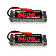 Venom 7.2V 5000mAh NiMH Batería Con HXT 4.0mm Enchufe x2 paquetes
