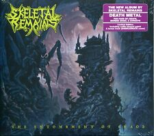 SKELETAL REMAINS The Entombment Of Chaos DIGIPAK CD + PATCH