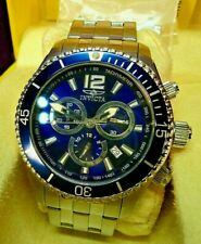 INVICTA SPECIALTY Collection 0620 All Stainless Swiss Chronograph Dive WATCH