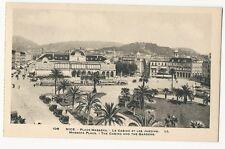 France - Nice, PLace Masséna, Le Casino et les Jardins - 1920's postcard