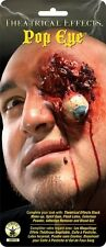 Fake Gouged Eye Scar Popped Out Eyeball Prosthetic Latex Pop Wound Injury Bloody