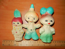 Rare Antique Soviet old VTG Russian baby doll toy Chipollino friends