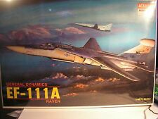 1/48  GENERAL DYNAMICS EF-111A RAVEN academy model kits maquette USAF
