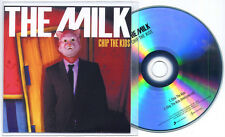 THE MILK Chip The Kids 2012 UK 2-trk promo test CD inc. instrumental