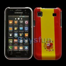 Spanish Flag Hard Cover Case For Samsung Galaxy S I9000