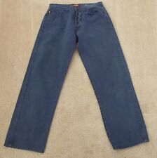 Adriano Goldschmied Jeans Sz 29  X 25 1/2 Straight Leg Med Wash Button Up