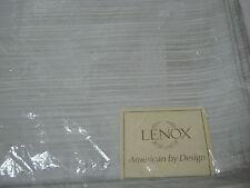NEW Lenox  Continental Oversized  NAPKINS Set of 4 -Platinum - 21x21 NIP