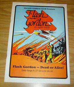 Pacific Comics Club: Flash Gordon #1 VF dead or alive - daily strips - 1981