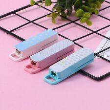 1 Set Manual Mini Stapler 3 Color Staplers Set School Office Supplies Stationery