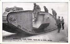 Rochdale Tank Week April 8th to 13th 1918. The Super tank.