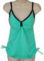 Jag aqua underwire tankini top size M 34D 34DD swimsuit women new