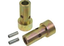 3 pair Speeco Zinc Cat 1 John Deere IMatch Adapter Lower and Toplink Bushings