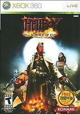 Hellboy: The Science of Evil (Microsoft Xbox 360, 2008) VERY GOOD