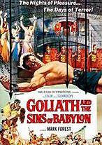 GOLIATH & THE SINS OF BABY - DVD - Region Free - Sealed