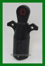 Trailer Socket Circuit Light Plug Tester 7 Flat Pin RV