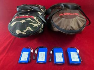 BOATMAN ACTOR BAIT BOAT BATTERIES MARK 1 TO MARK 4, BAGS, PROPS & WEED GUARDS