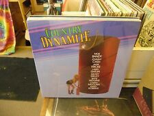 Country Dynamite vinyl LP 1985 KAT Records Moe Bandy Marty Robbins SEALED