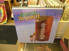 Country Dynamite vinyl LP 1985 KAT Records Moe Bandy Marty Robbins SEALED