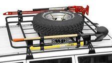 "Warrior Safari Sport Rack System 84-01 Jeep Cherokee XJ 45""x55""x5"" Gutter Mounts"