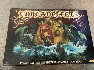 Dreadfleet Warhammer Painted -  Plus Extras Incl Foam Inserts & White Dwarf 382
