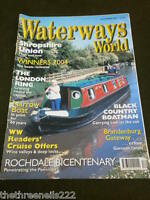 WATERWAYS WORLD - SHROPSHIRE UNION - DEC 2004