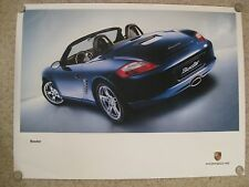 Porsche Boxster Showroom Advertising Sales Poster RARE!! Awesome L@@K