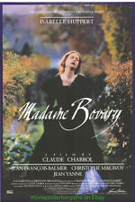 MADAME BOVARY MOVIE POSTER Original 27x40 Rolled 1991 GUSTAVE FLAUBERT NOVEL