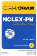 NCLEX-PN Practice Questions Exam Cram by Clara Hurd, Wilda Rinehart and Diann...
