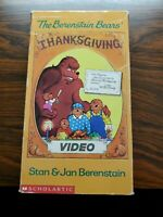 The Berenstain Bears Thanksgiving Vhs 1989 Very Htf Rare Oop