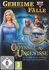 Geheime Fälle: Odyssee ins Ungewisse für Pc Neu/Ovp