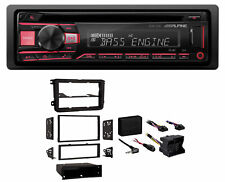 ALPINE CD Receiver Stereo Android/MP3/WMA/USB/AUX for 16 PassatVW Car