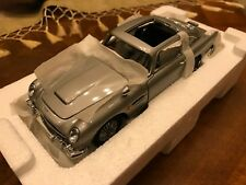 Danbury Mint / 1963 Aston Martin DB5 / James Bond 007 / Goldfinger / Scale 1:24
