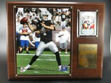 Derek Carr Oakland Raiders Wood Wall Picture 38cm, Plaque Wall Pic Nfl Football