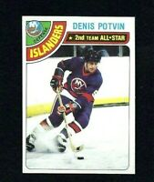 NM 1978 Topps #245 Denis Potvin AS.
