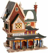 Dept 56 Dickens Village - The China Trader 58447 Retired Antique Store Brand New