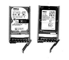 "LOT 2X 146GB Dell T228M +  x160k -  146GB 10K SAS 2.5"" + CADDY TRAY"