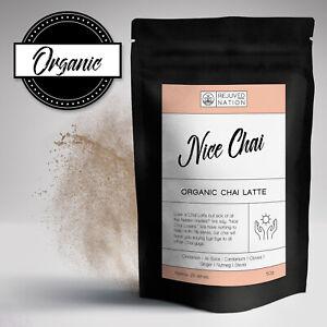 Nice Chai: Organic Chai Latte Powder: Sugar Free - Premium - No nasties