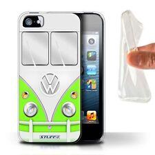 Étuis, housses et coques verts iPhone 5s en silicone, caoutchouc, gel pour téléphone mobile et assistant personnel (PDA)