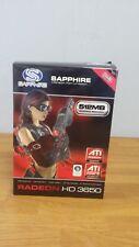 NEW SAPPHIRE ATI AMD Radeon HD 3650 512MB GDDR3 Video Card DVI Retail BOX
