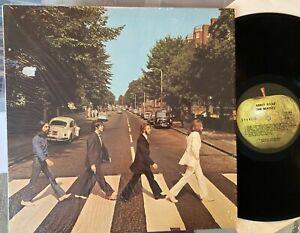 THE BEATLES - ABBEY ROAD - ORIGINAL 1969 APPLE LP vinyl record album VG+/VG+